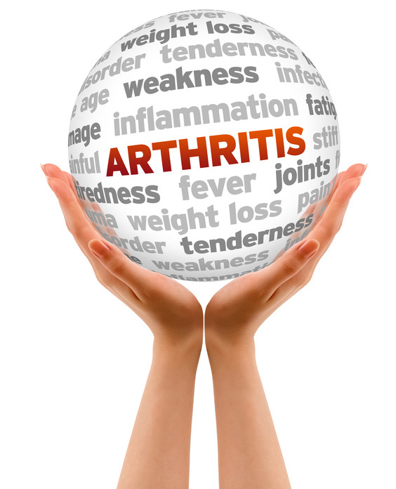These are words typically used to describe arthritis, or someone with it.